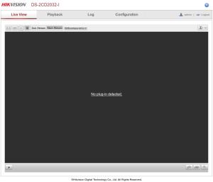 Hikvision-webui-Live-View