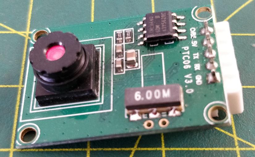 Interfacing PTC06 UART camera with micropython
